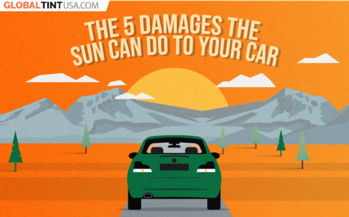 5 Damages the Sun Can Do to Your Car