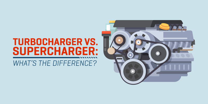 TURBOCHARGER VS. SUPERCHARGER – WHAT'S THE DIFFERENCE?